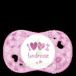Acheter Luc et Léa Sucette symétrique 0-6mois 100% Tendresse à LIVRON-SUR-DROME